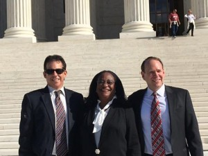 Helmer Friedman, Crystal Lightfoot presents case to U.S. Supreme Court.